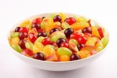 Organic refreshing summer fruit salad Royalty Free Stock Photography