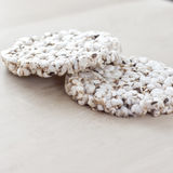 Organic Rice Cakes Royalty Free Stock Photography