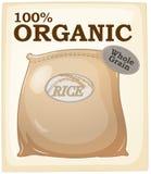 Organic rice Stock Photography