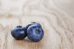 Organic ripe blueberries Royalty Free Stock Photos