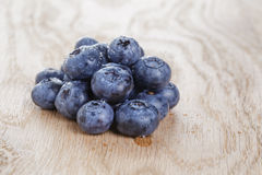 Organic ripe blueberries Royalty Free Stock Images