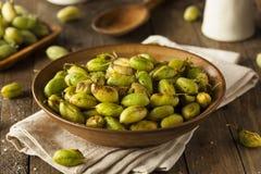 Organic Roasted Fresh Garbanzo Beans Royalty Free Stock Photos