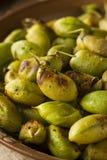 Organic Roasted Fresh Garbanzo Beans Stock Photography