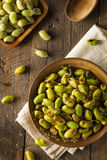 Organic Roasted Fresh Garbanzo Beans Royalty Free Stock Images