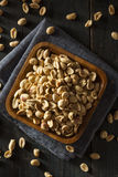 Organic Roasted Salty Peanuts Stock Photos