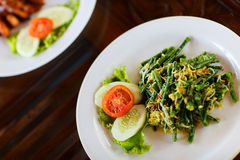 Organic salad Royalty Free Stock Photography