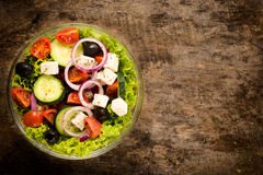 Organic salad Royalty Free Stock Images