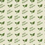 Organic seamless pattern. Royalty Free Stock Images