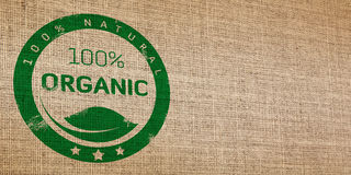 Organic seamless wicker. Natural wicker organic icons printed on the photo Royalty Free Stock Photo