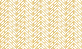 Organic seeds zigzag seamless pattern. Zigzag with organic seed holes. Seamless tile stock illustration