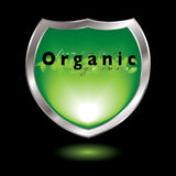 Organic shield Stock Photography