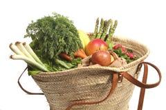 Organic shopping Royalty Free Stock Images