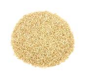 Organic short brown rice Stock Photos