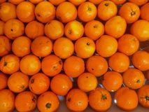 Floating oranges Royalty Free Stock Images