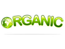 Organic sign Royalty Free Stock Images