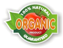 Organic sign Royalty Free Stock Photos