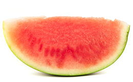Organic slice of watermelon Royalty Free Stock Photography
