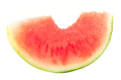 Organic slice of watermelon Stock Photography