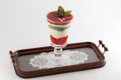 Organic smoothie, juice on tray Royalty Free Stock Image