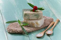 Organic Soap Stock Images