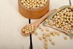 Organic soya beans Stock Photography