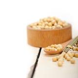 Organic soya beans Stock Image
