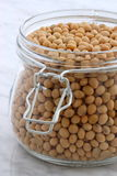 Organic soybeans Royalty Free Stock Images