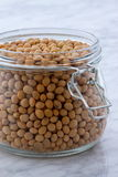 Organic soybeans Stock Photo