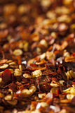 Organic Spicy Red Pepper Flakes Stock Images