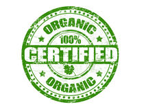 Organic stamp Stock Photo