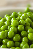 Organic Steamed Fresh Green Peas Royalty Free Stock Photography