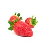 Organic strawberriy Royalty Free Stock Photos