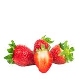 Organic strawberriy Royalty Free Stock Photography