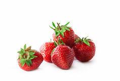 Organic strawberry royalty free stock image