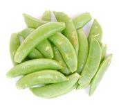 Sugar snap peas Stock Photo