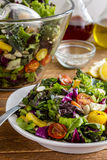 Organic Super Food Vegetarian Salad Stock Image