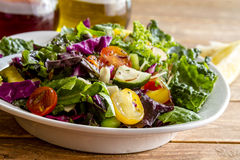 Organic Super Food Vegetarian Salad Stock Images