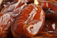 organic and sweet date ready to eat Stock Images