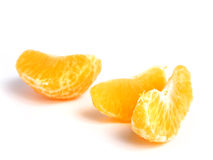 Organic Tangerine sectioned Royalty Free Stock Image