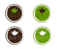 organic teapot art Royalty Free Stock Photos