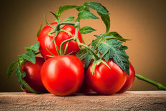 Organic tomato. Royalty Free Stock Photo