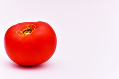 Organic Tomato. Natural Organic Not GMO Tomato. Organic food Royalty Free Stock Photography