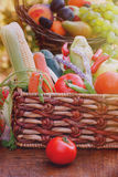 Organic vegetable close-up Stock Images