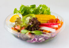 Organic vegetable salad. Royalty Free Stock Images
