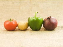 Organic vegetables Royalty Free Stock Photos