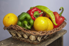 Organic vegetables Stock Image