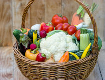 Organic vegetables Stock Images