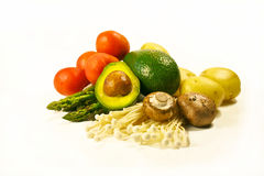 Organic vegetables for healthy diet  Stock Photography