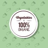 Fresh Organic vegetables. Organic vegetables icon vector illustration graphic design icon vector illustration graphic design vector illustration