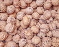 Organic walnuts closeup Stock Photo